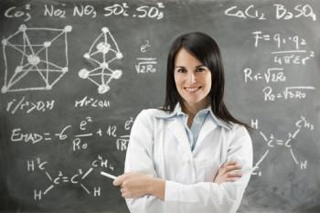 sexy women scientist