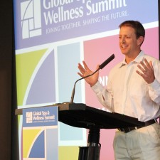 Speaking at the Global Spa and Wellness Summit