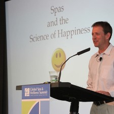 Jeremy McCarthy at the Global Spa & Wellness Summit